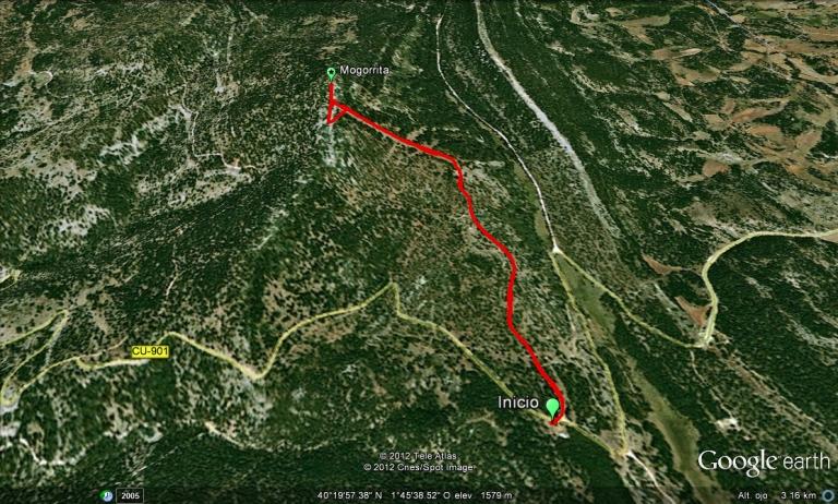 Mogorrita ruta